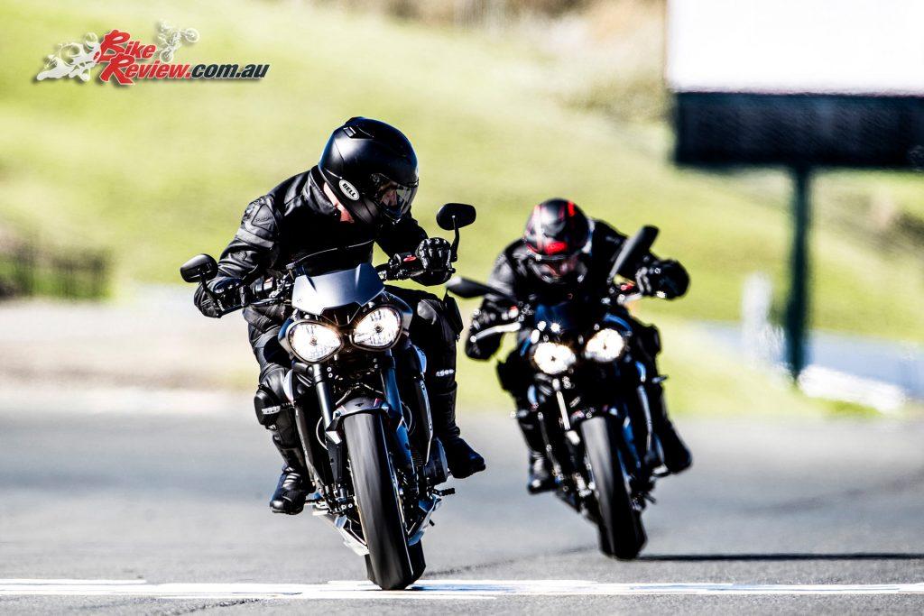 2017 Triumph Street Triple RS & R models