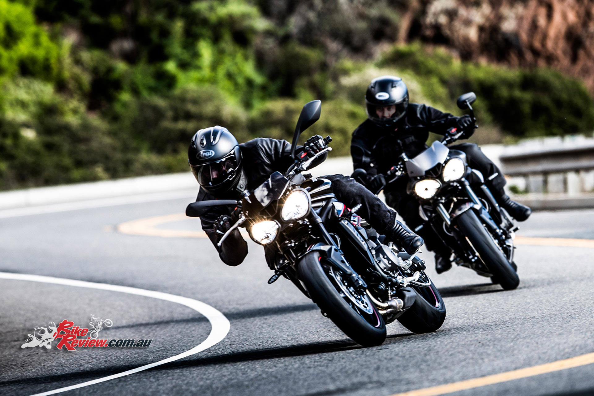 3 new street triple variants unveiled for 2017 bike review. Black Bedroom Furniture Sets. Home Design Ideas