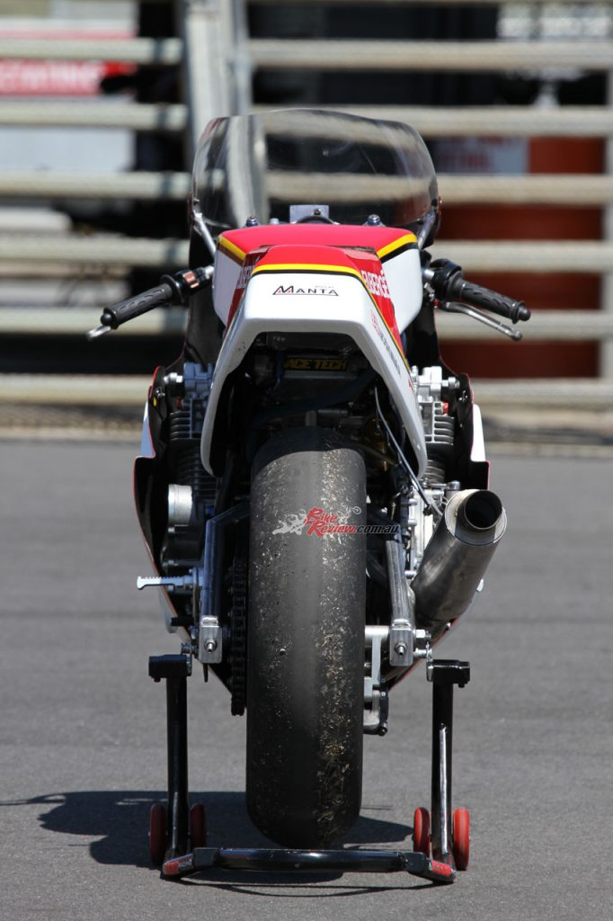 Cameron Donald races Manta Racing XR69 Replica
