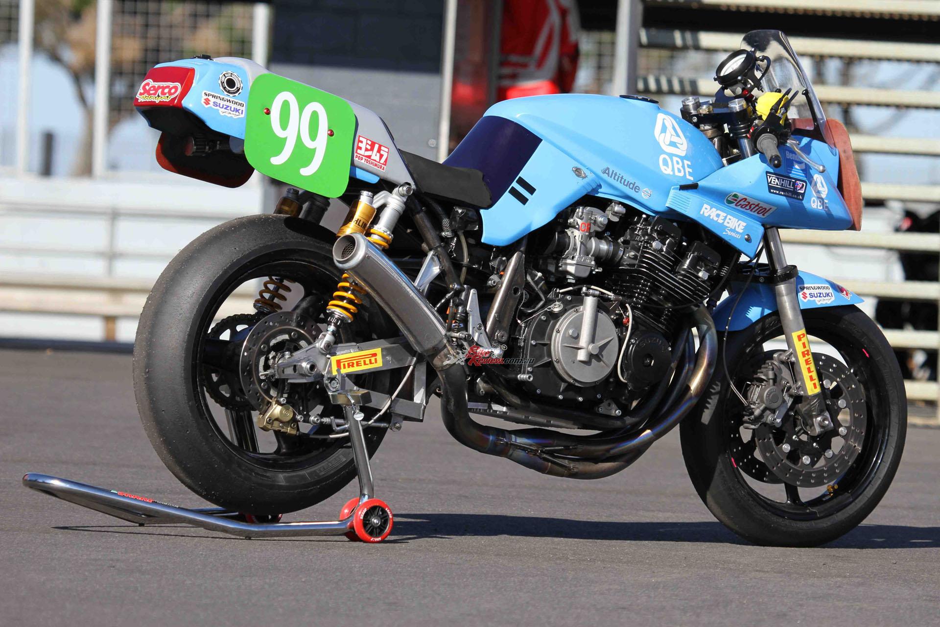 Retro Racer Steve Martin 99 Tbr Katana Bike Review