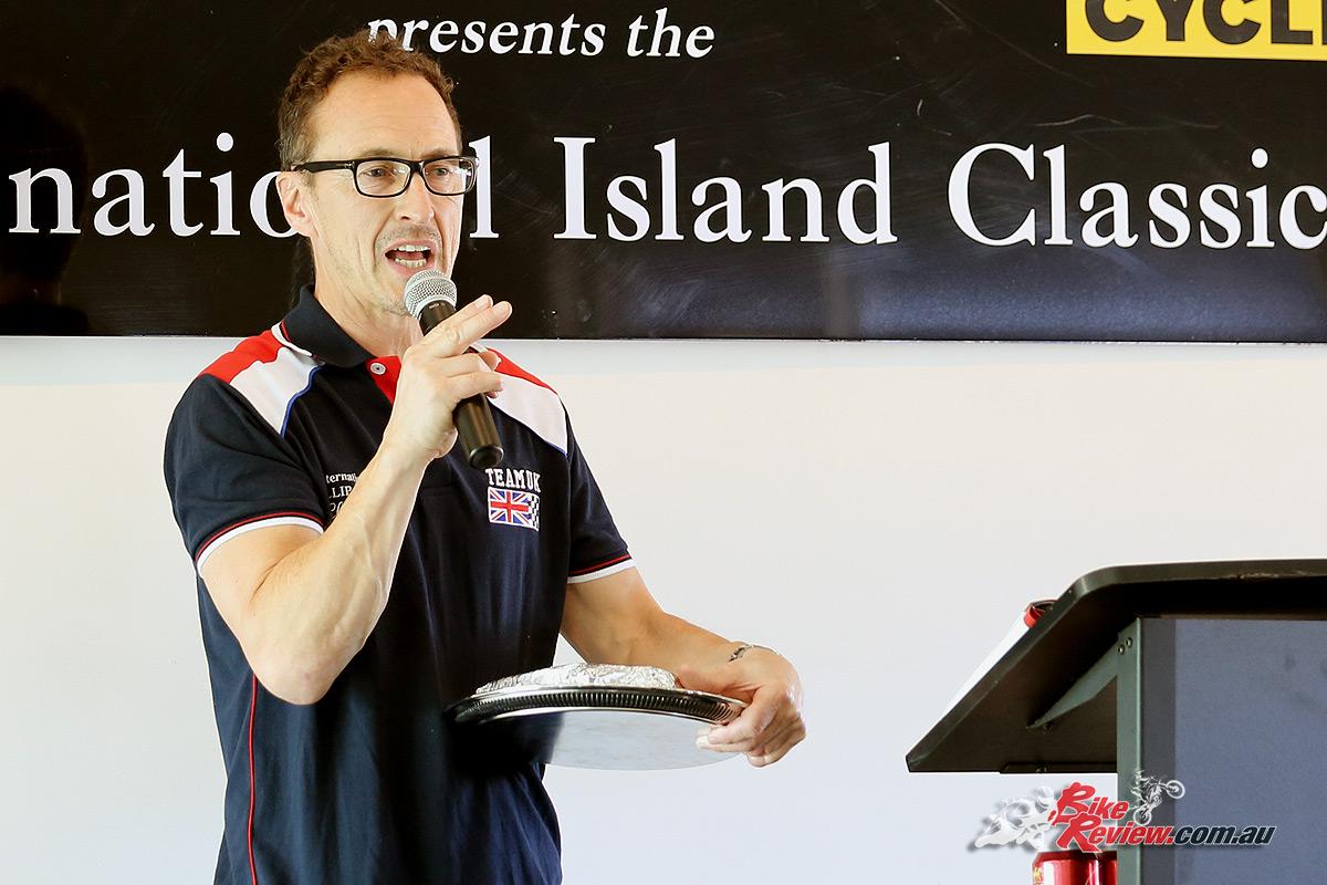 2017 Island Classic Award Ceremony - Jeremy McWilliams