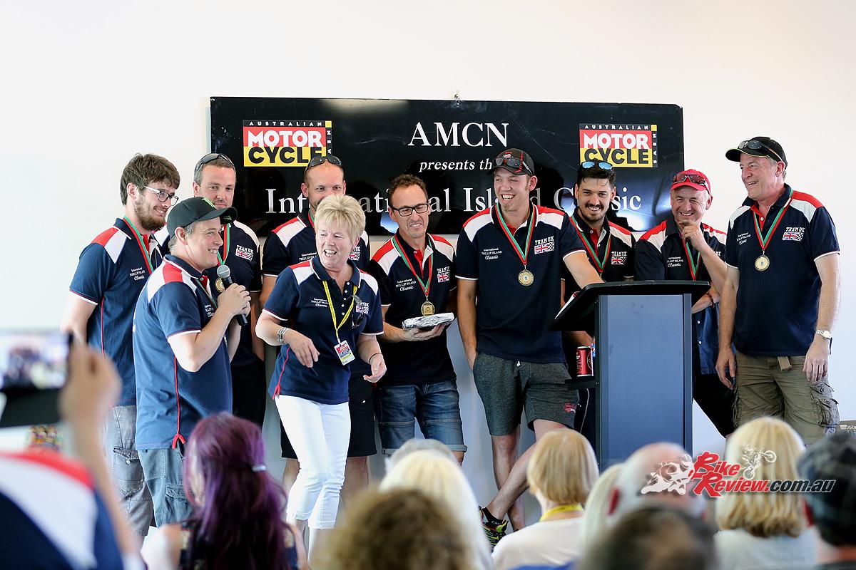 2017 Island Classic Award Ceremony - Team UK