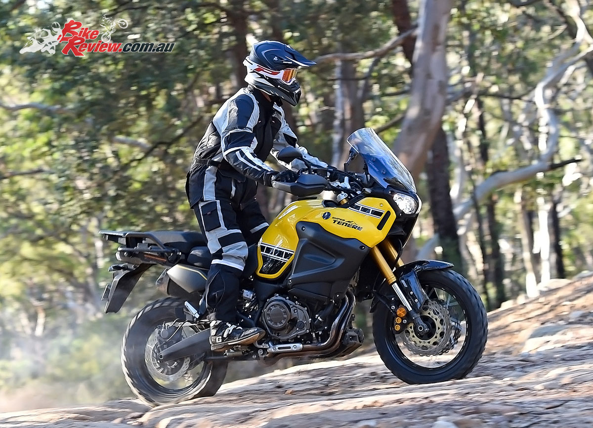 Yamaha Super Tenere - Ben O'Brien, MotoDry Advent Tour jacket and pants, RXT Edge helmet