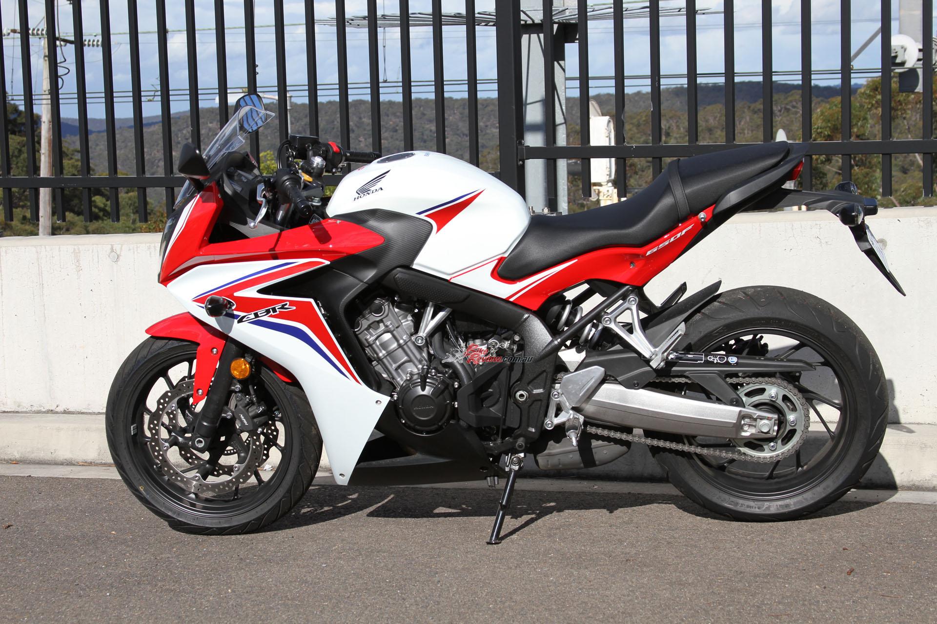 Review Honda Cbr650f Lams Bike Review