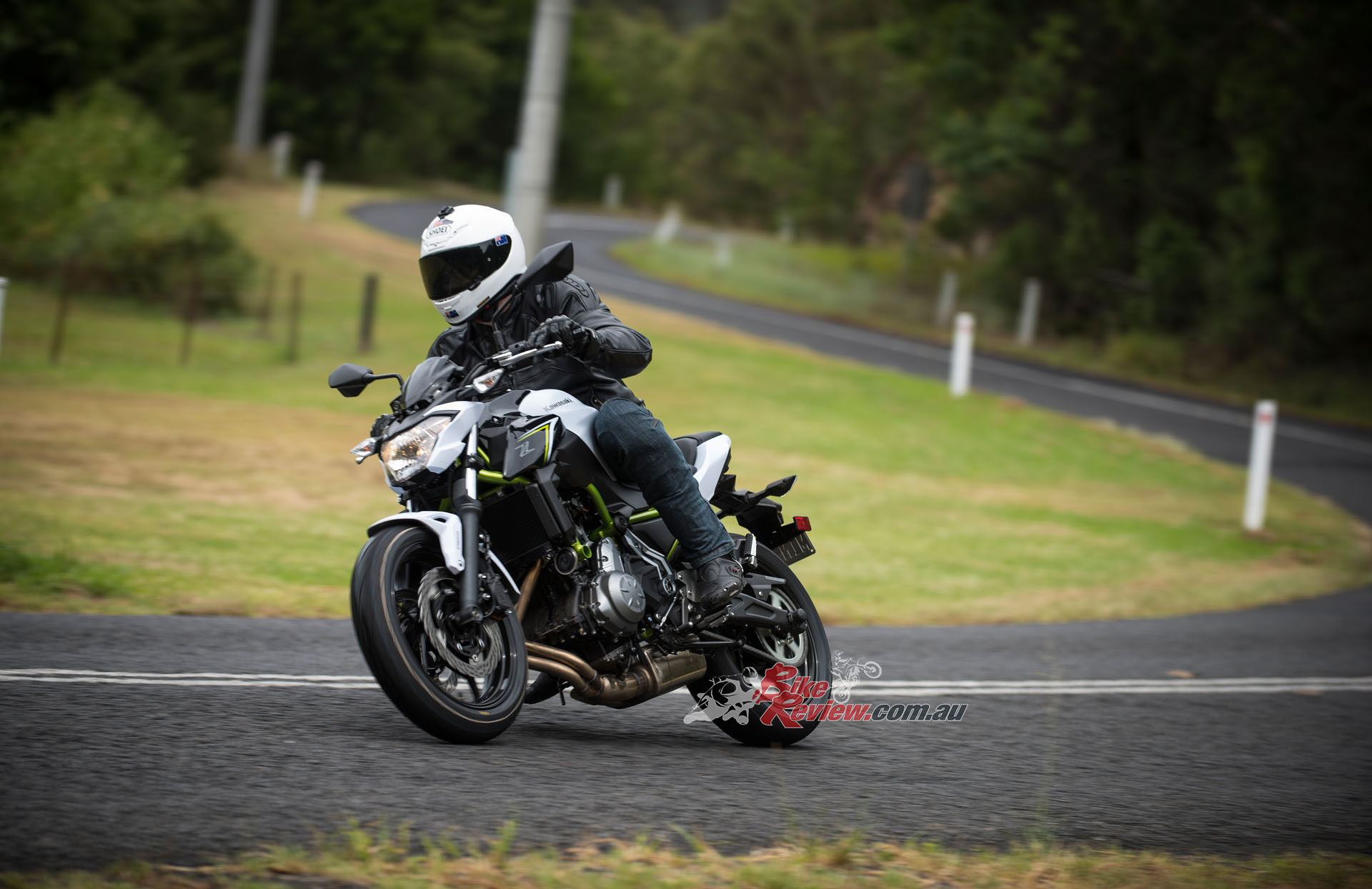 I had so much fun on the Z650L. I spent an hour going up and down this one section of road and was grinning from ear to ear!