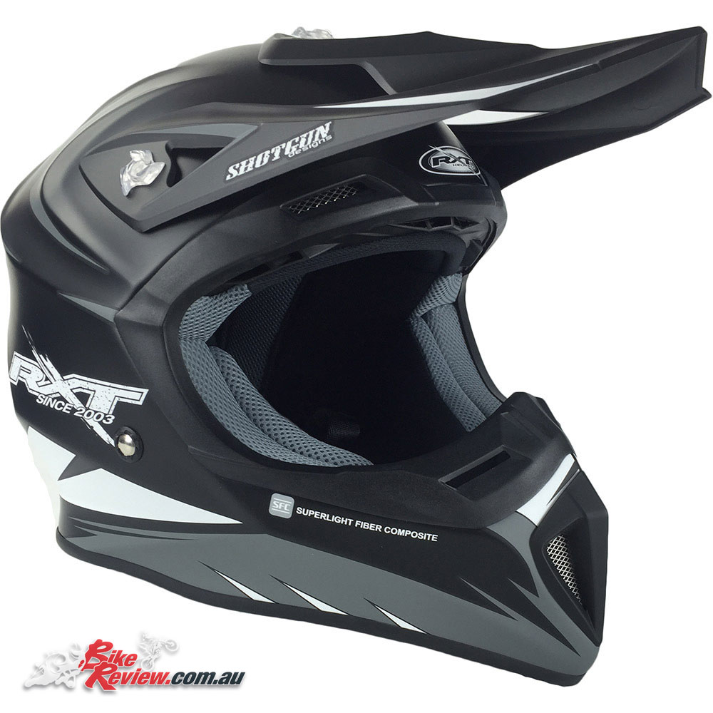 RXT Edge helmet - Black/White