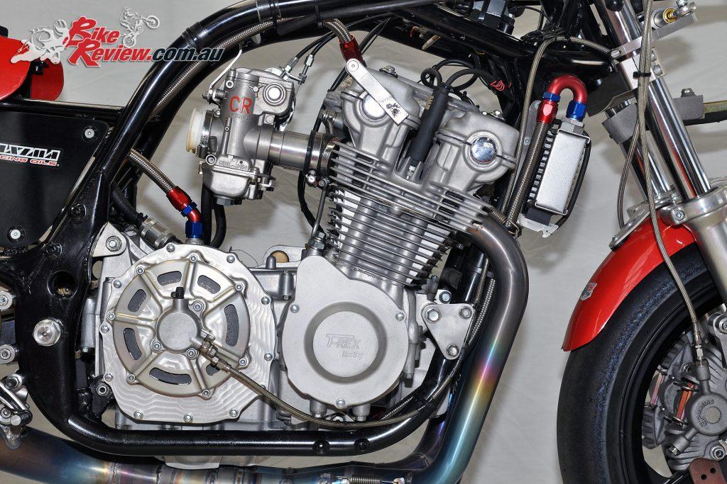 T-Rex Racing Harris Honda - Honda RSC Dry Clutch