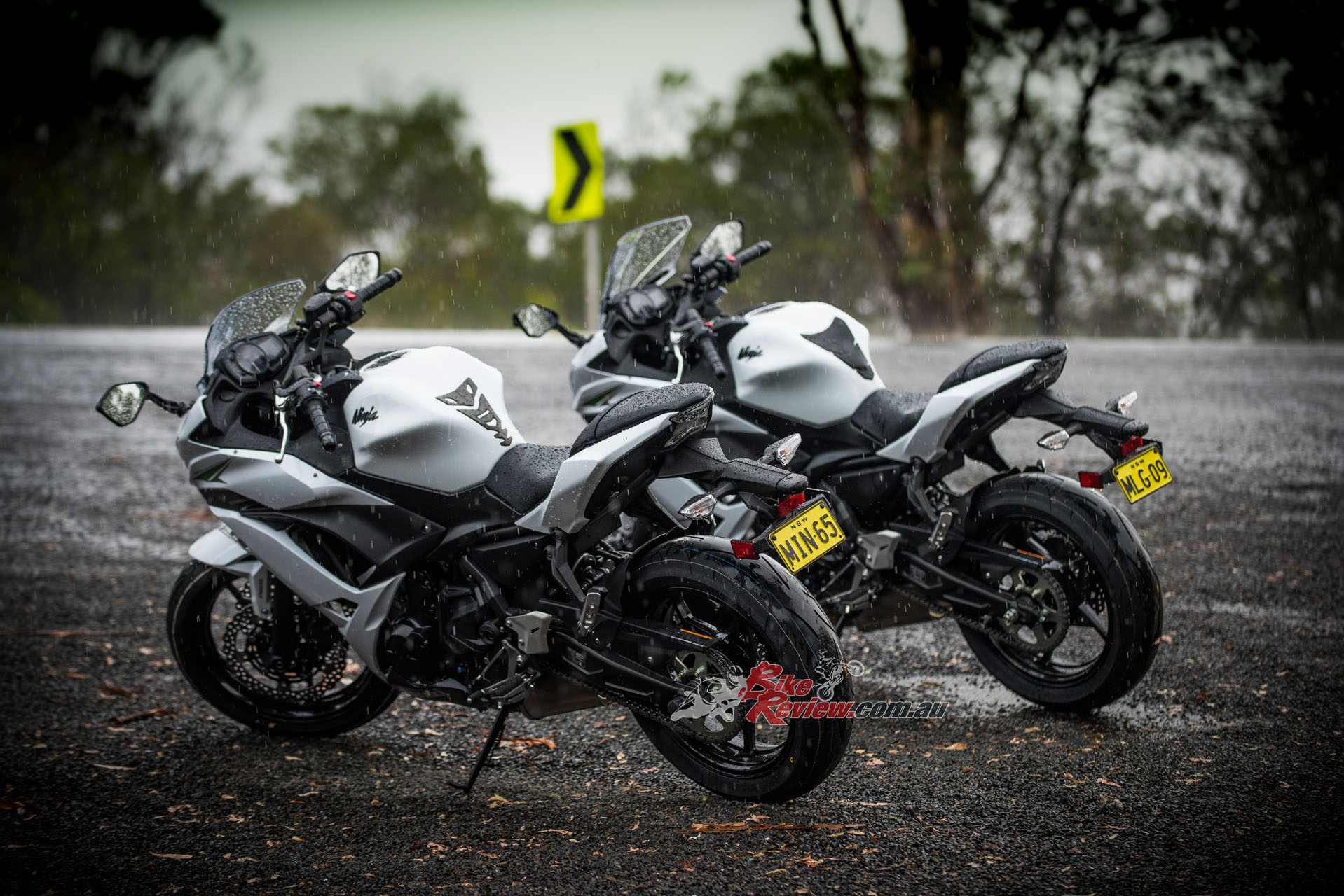 The 2017 Kawasaki Ninja 650L launch wasn't without some challenging conditions, offering a great opportunity to test wet weather capabilities.