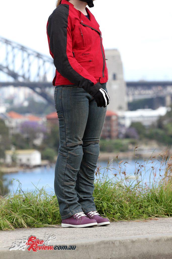 DriRider iRide2 women's boots, Dririder Cruise Ladies jacket, DriRider Ladies Classic 2.0 jeans