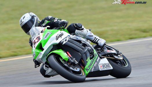 Kawasaki Riders soar at Round 2 of 2017 ASBK