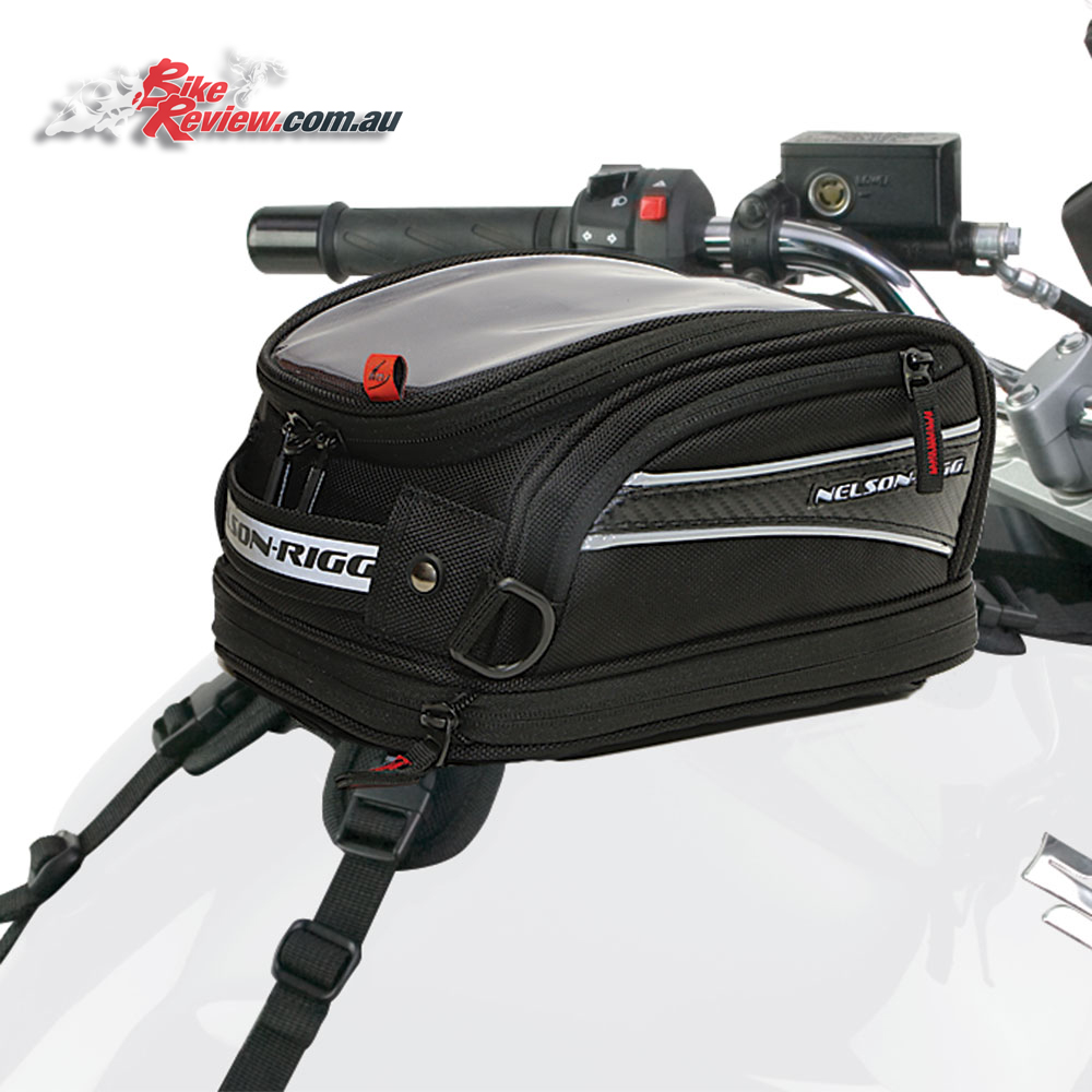 Nelson-Rigg CL-2014 Journey Tank Bag - Small, Strapped