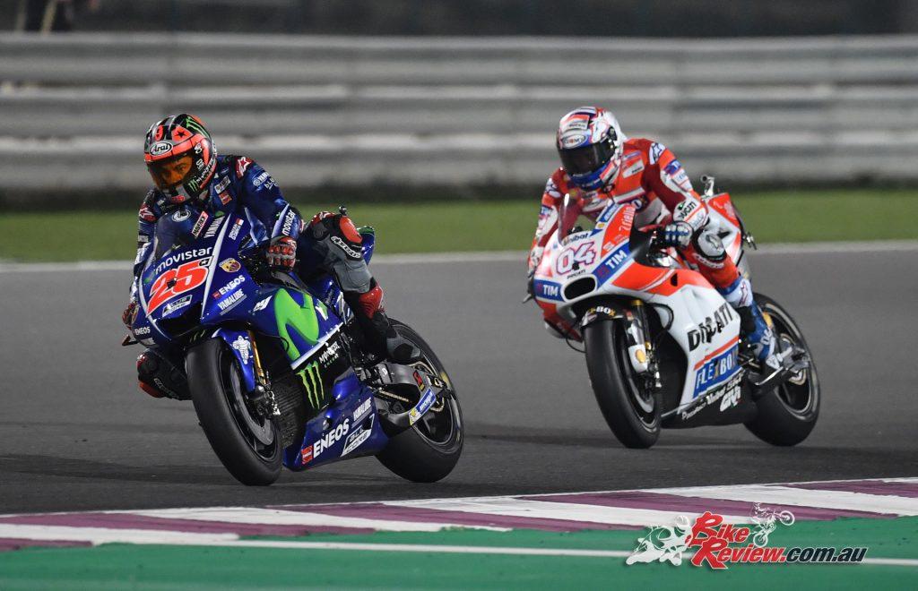 MotoGP 2017 - Qatar Vinales and Dovizioso