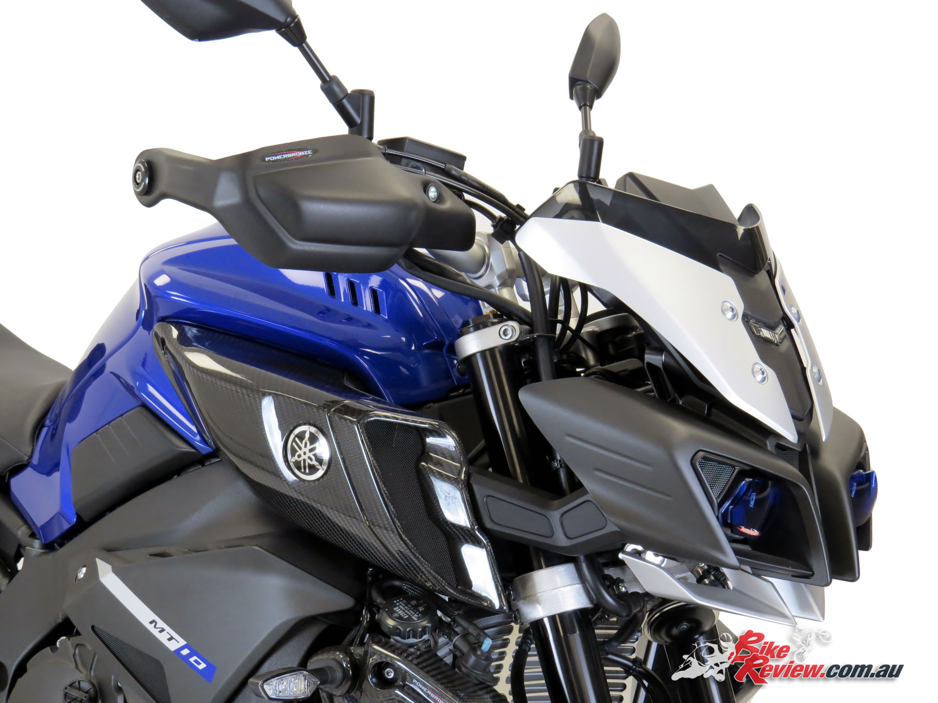New Product Powerbronze Hand Guards Bike Review