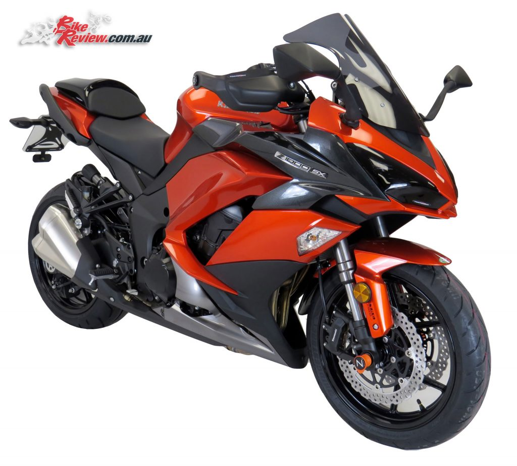 Kawasaki Ninja 1000 with Powerbronze Airflow screen