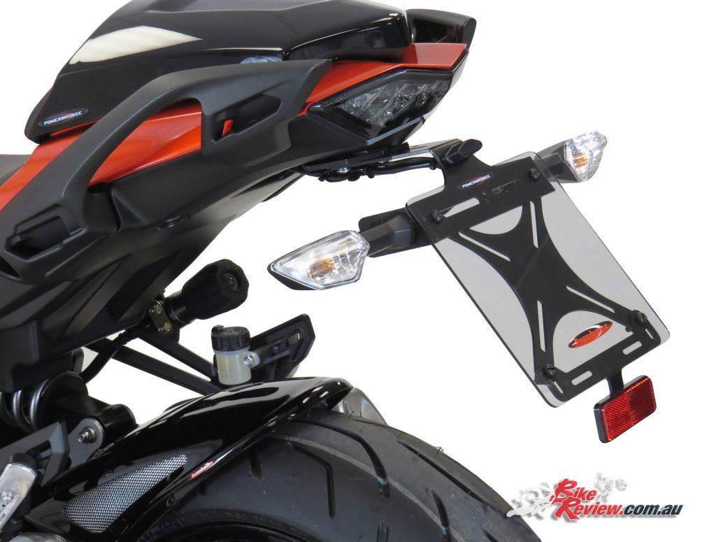 Powerbronze adjsutable Ninja 1000 Fender Eliminator/Tail Tidy