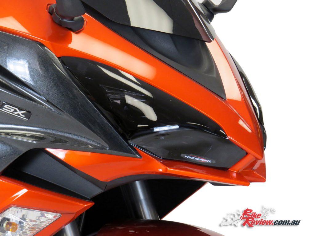 Powerbronze Headlight Protectors - Ninja 1000