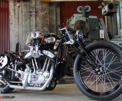 Custom Bike: Upheval - Iron Head Sporty land speed racer ...