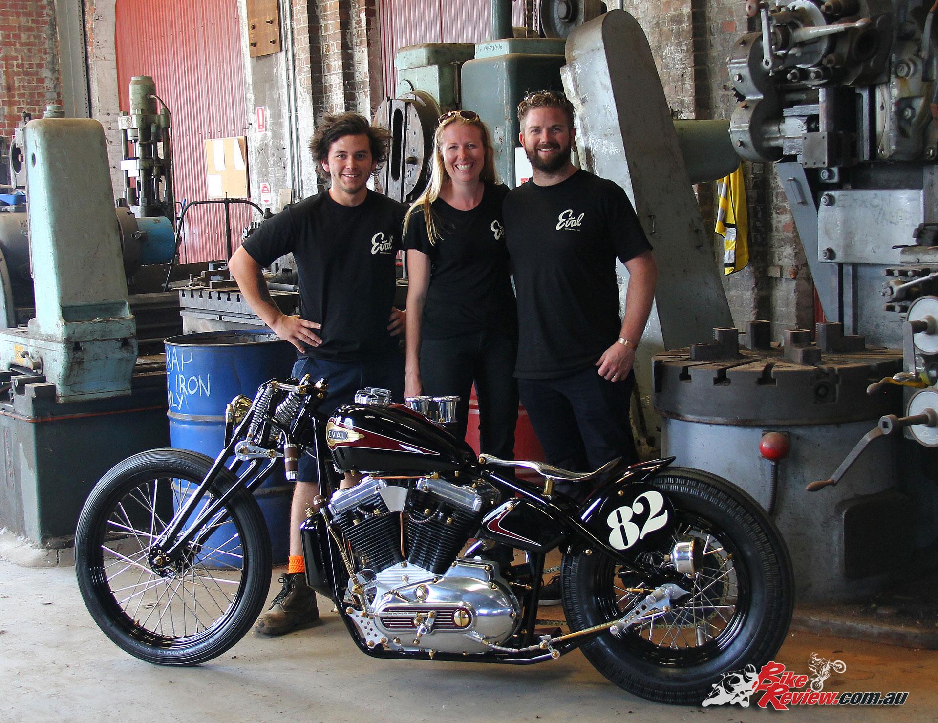 Eval Motorcycles - Upheval