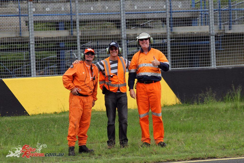The marshals at the 2017 International Festival of Speed did an exceptional jobThe marshals at the 2017 International Festival of Speed did an exceptional job