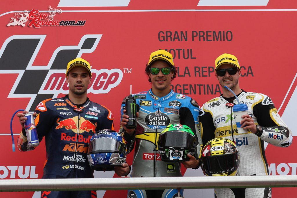 Moto2 Argentina Podium