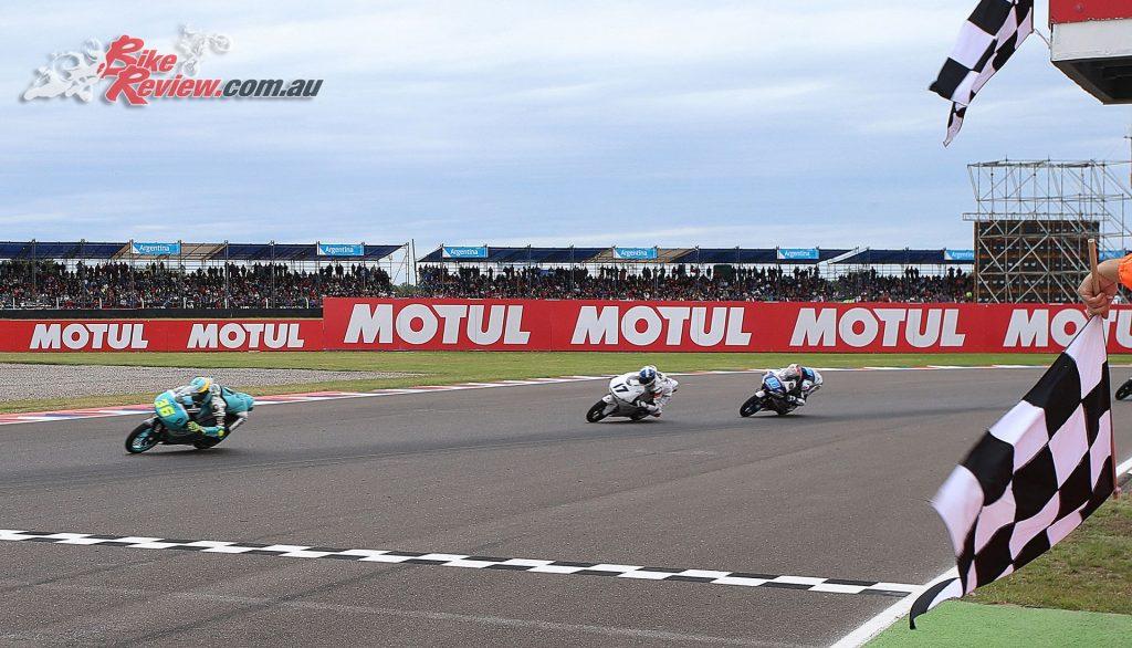 Moto3 saw Mir, McPhee and Martin mirror their Qatar efforts in Argentina