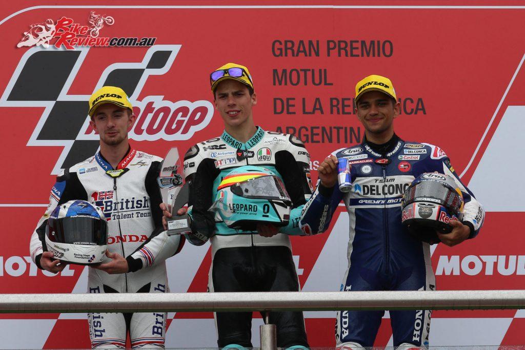 Moto3 Argentina Podium