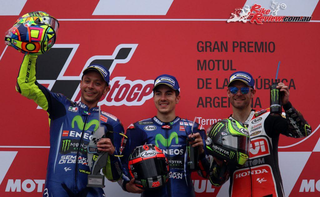 MotoGP Argentina Podium