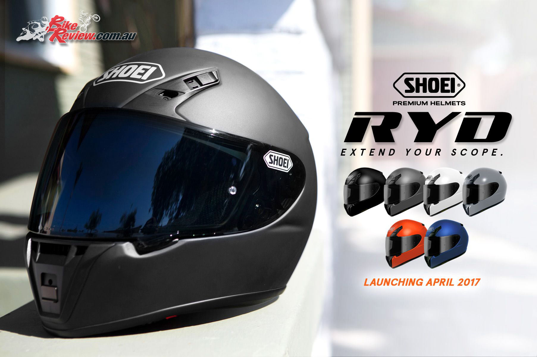 All new Shoei RYD