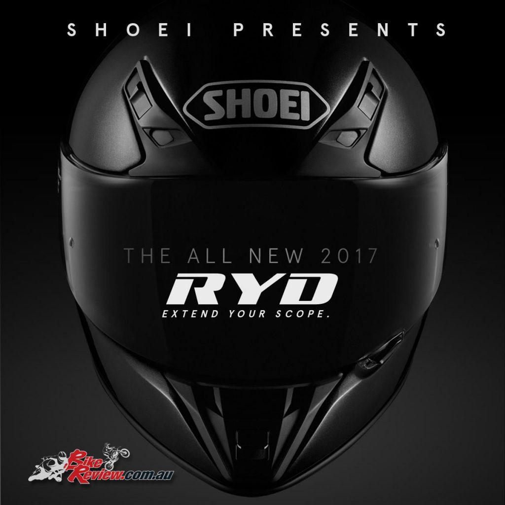 All new Shoei RYD