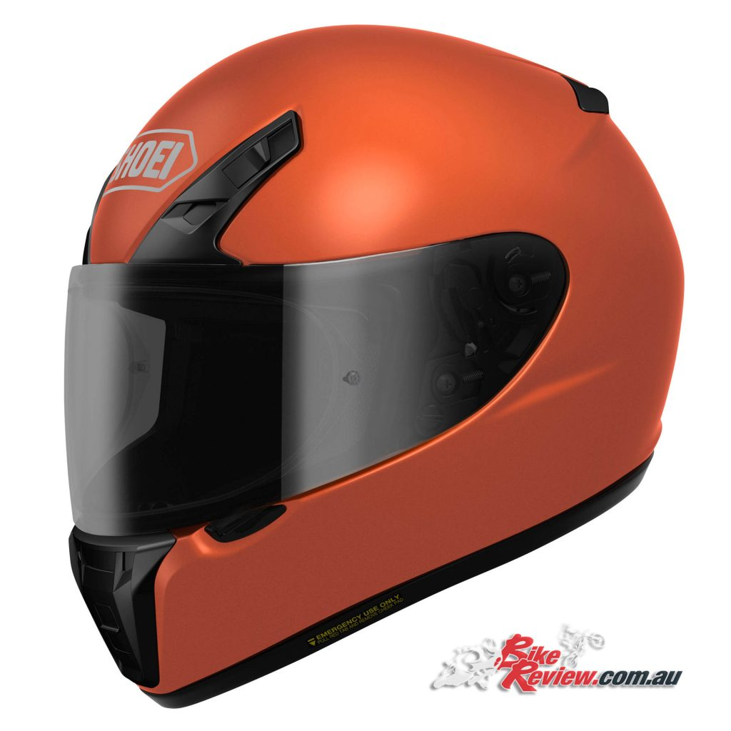 Shoei RYD - Tangerine Orange