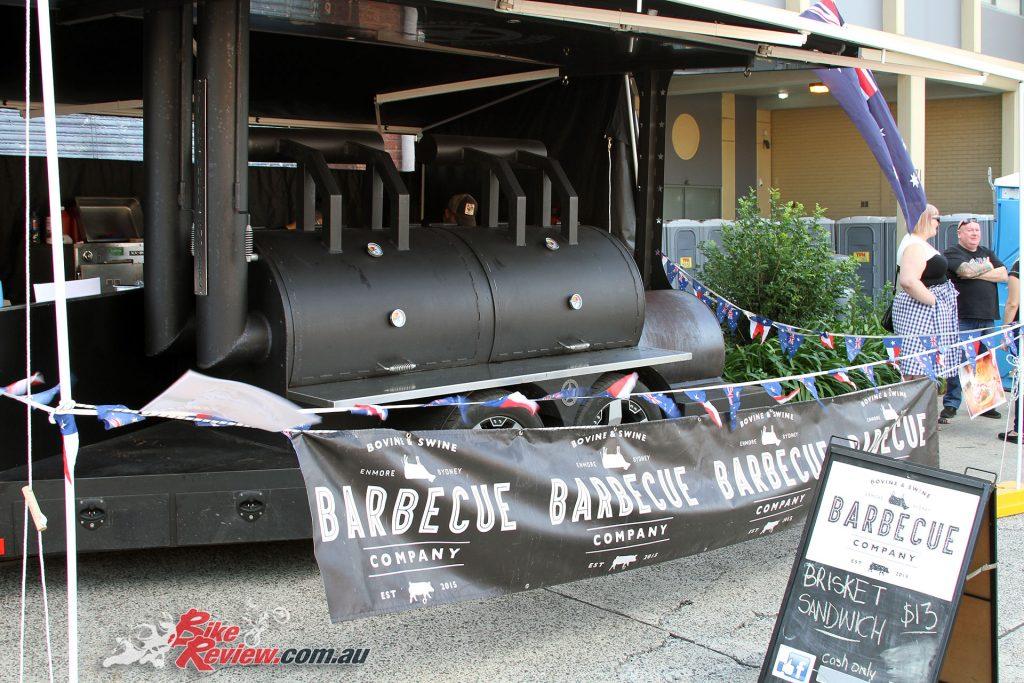 The Barbecue Company brisket sandwich was amazing