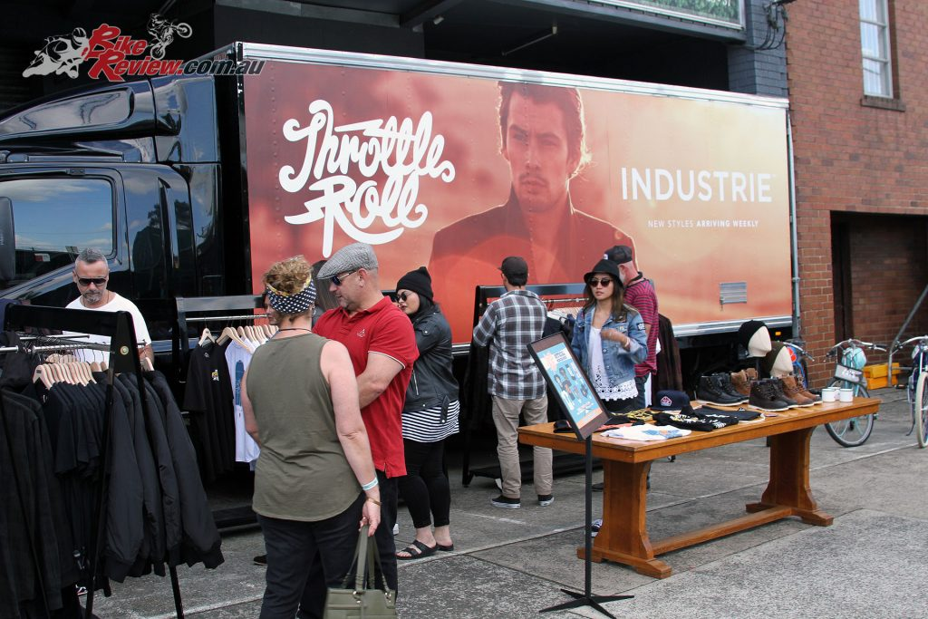 The 2017 Throttle Roll street party was supported by Industrie