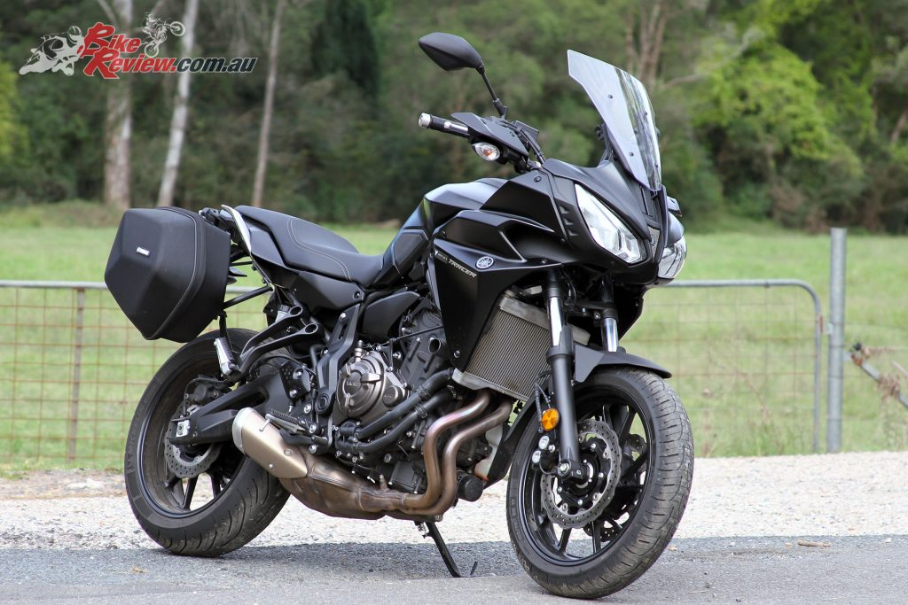 Motorcycle For Tall Riders Time to fit some protection to the 2017 Yamaha MT-07 Tracer in the ...