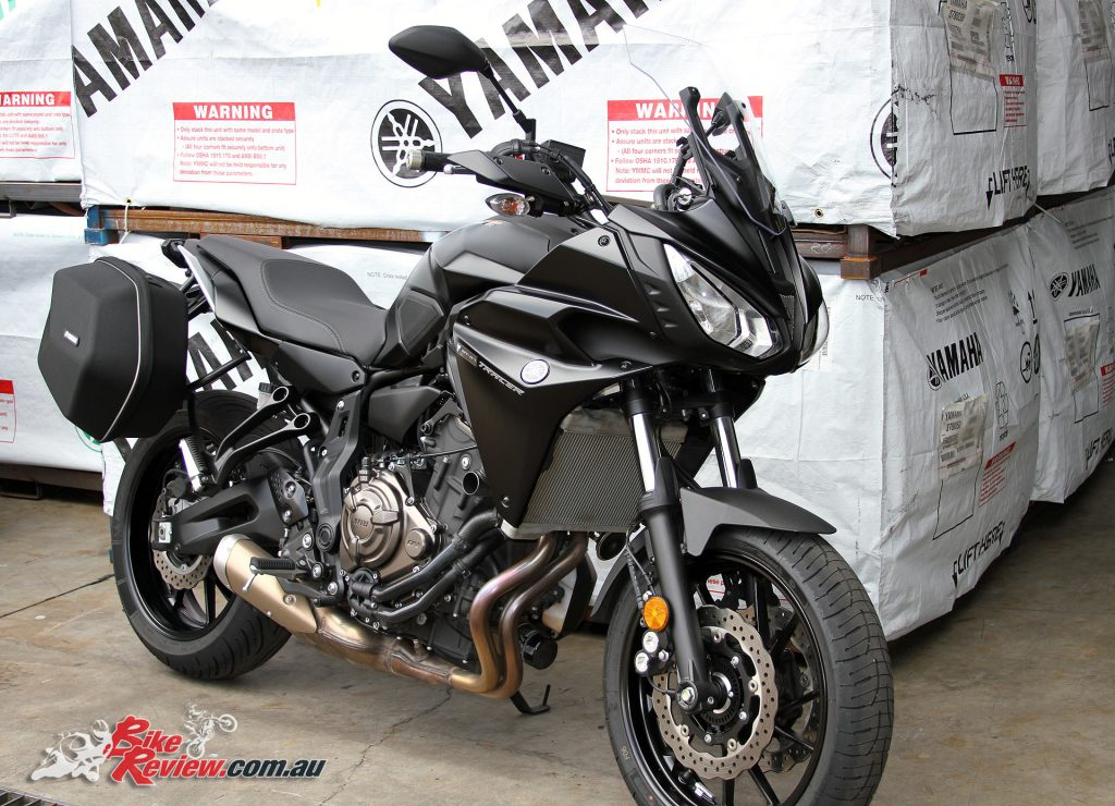 2017 Yamaha MT-07 Tracer