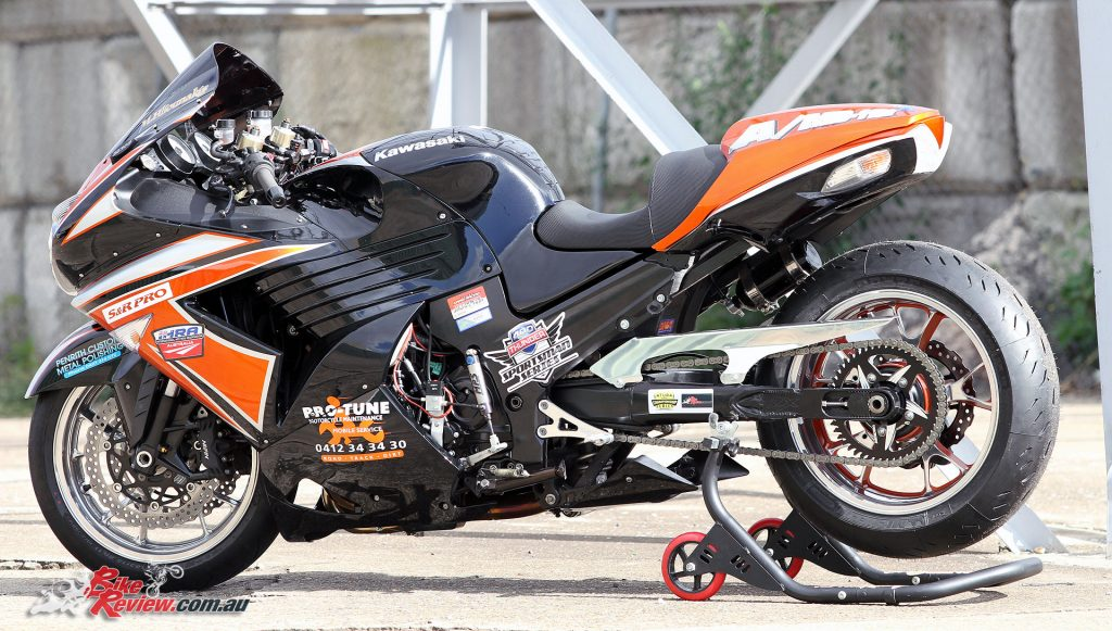 Custom Pro-Tune nine-second Kawasaki ZX-14