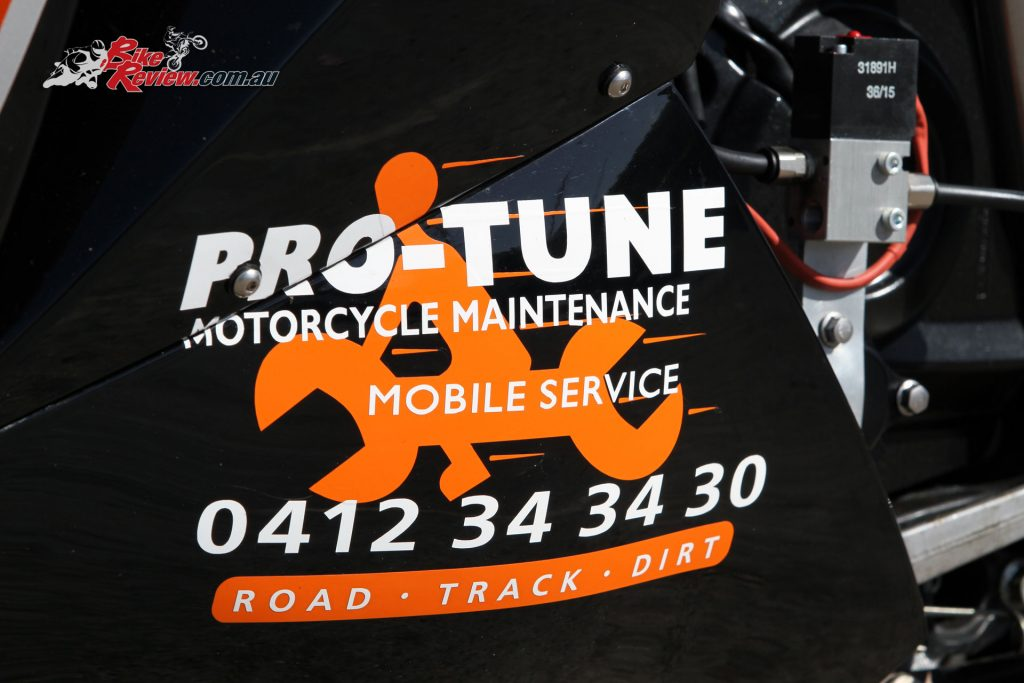 Custom Pro-Tune nine-second Kawasaki ZX-14 - Decals by Excite Signs in Penrith