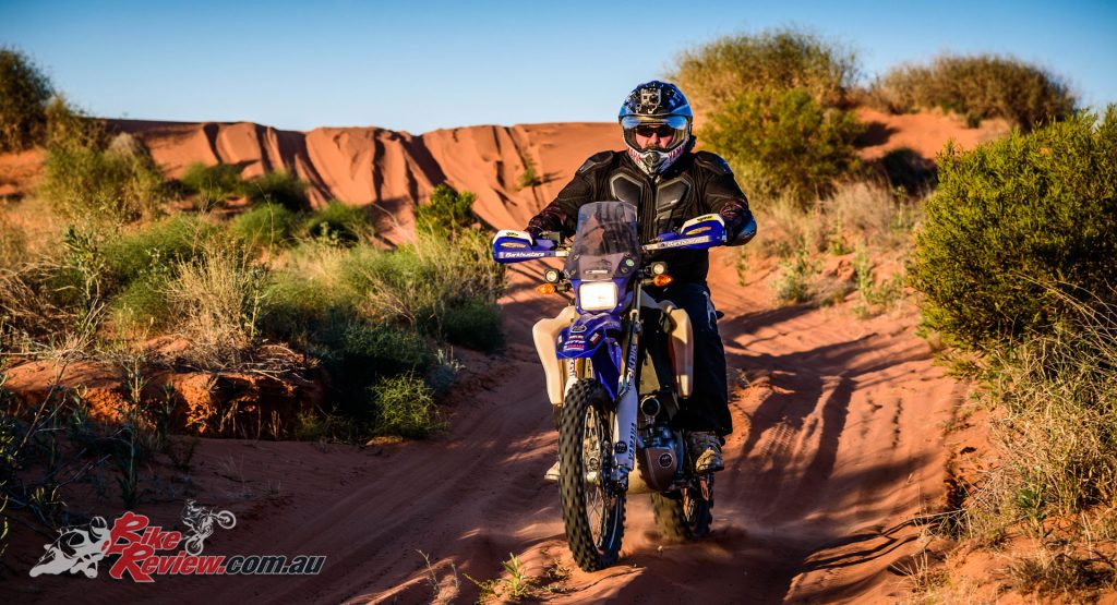 Greg Yager RideADV - Simpson Desert - Yamaha WR250R - Image: Danny Wilkinson