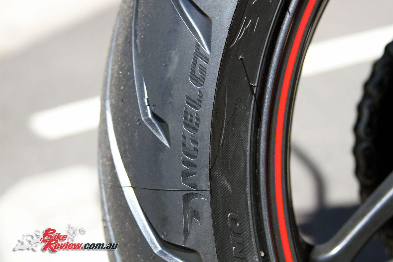 tyre test pirelli angel gt bike review. Black Bedroom Furniture Sets. Home Design Ideas