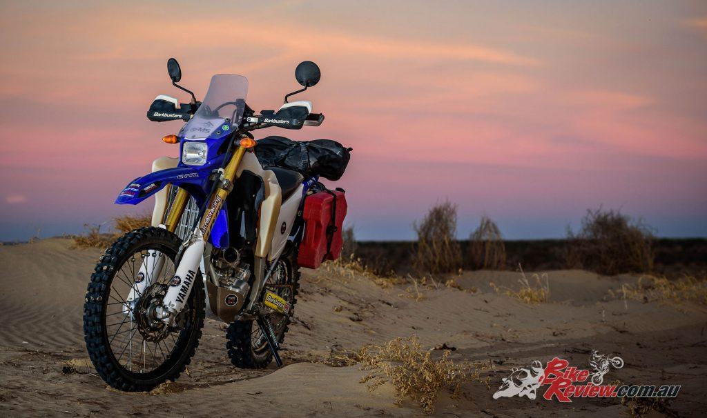 Simpson Desert - Yamaha WR250R - Image: Danny Wilkinson