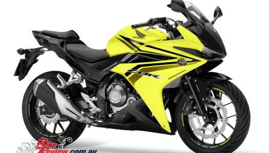Honda introduces new colour for 2017 CBR500R