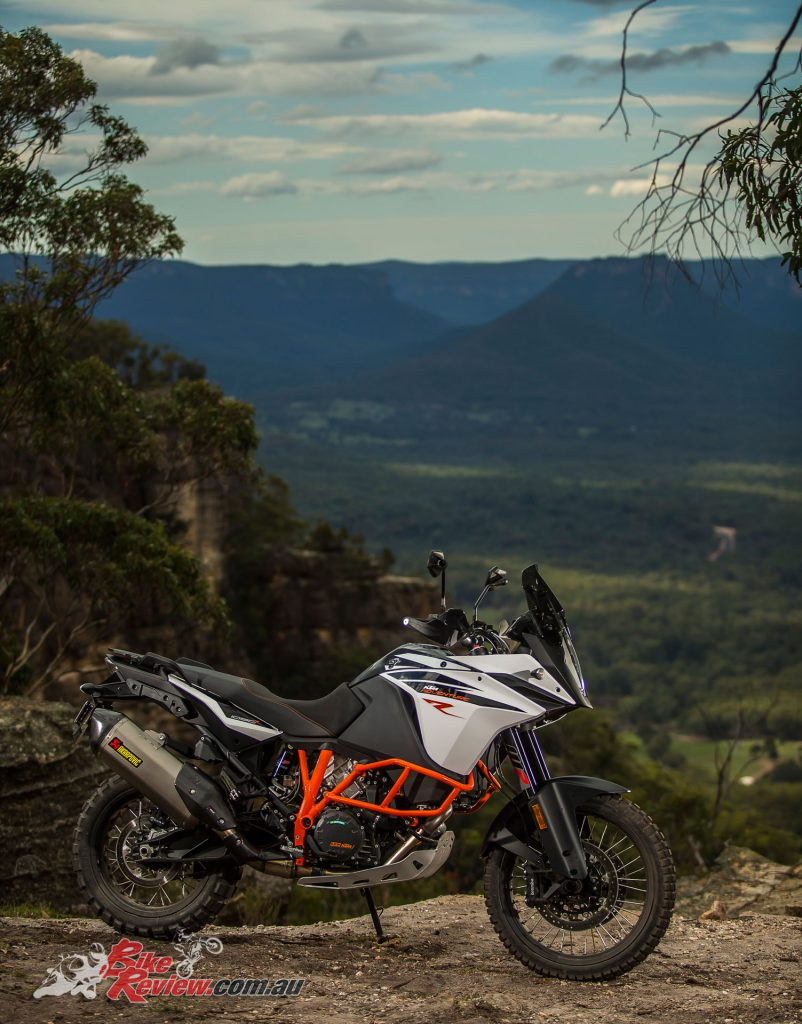 It's hard to argue with the bang for buck of the 2017 KTM 1090 Adventure R