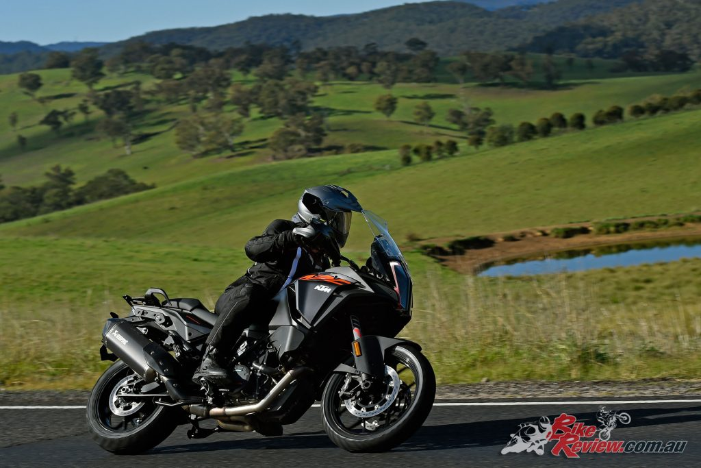 On the open road and through the twisties the Super Adventure S offered plenty of fun