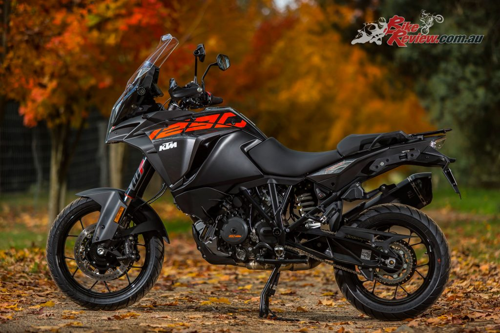 The 2017 KTM 1290 Super Adventure S opens a world of travel options