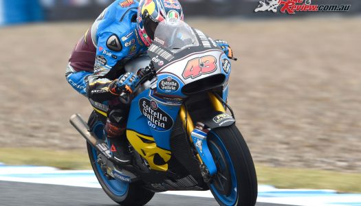 Jack Miller taken out by Bautista at Jerez