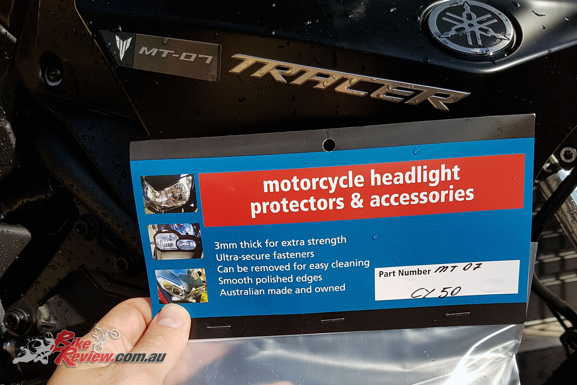 Our AMHP headlight protectors arrive!