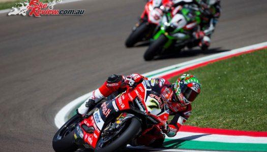 Ducati's Chaz Davies takes the WSBK double at Imola
