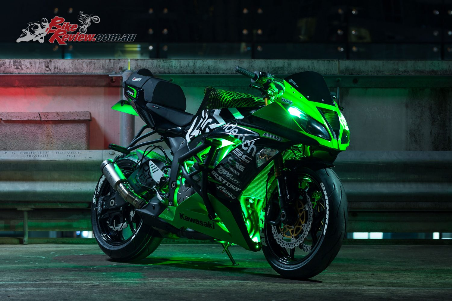 Kawasaki Stunt Rider Jb Unveils Ninja Zx 6r Stunt Bike on new harley accessories