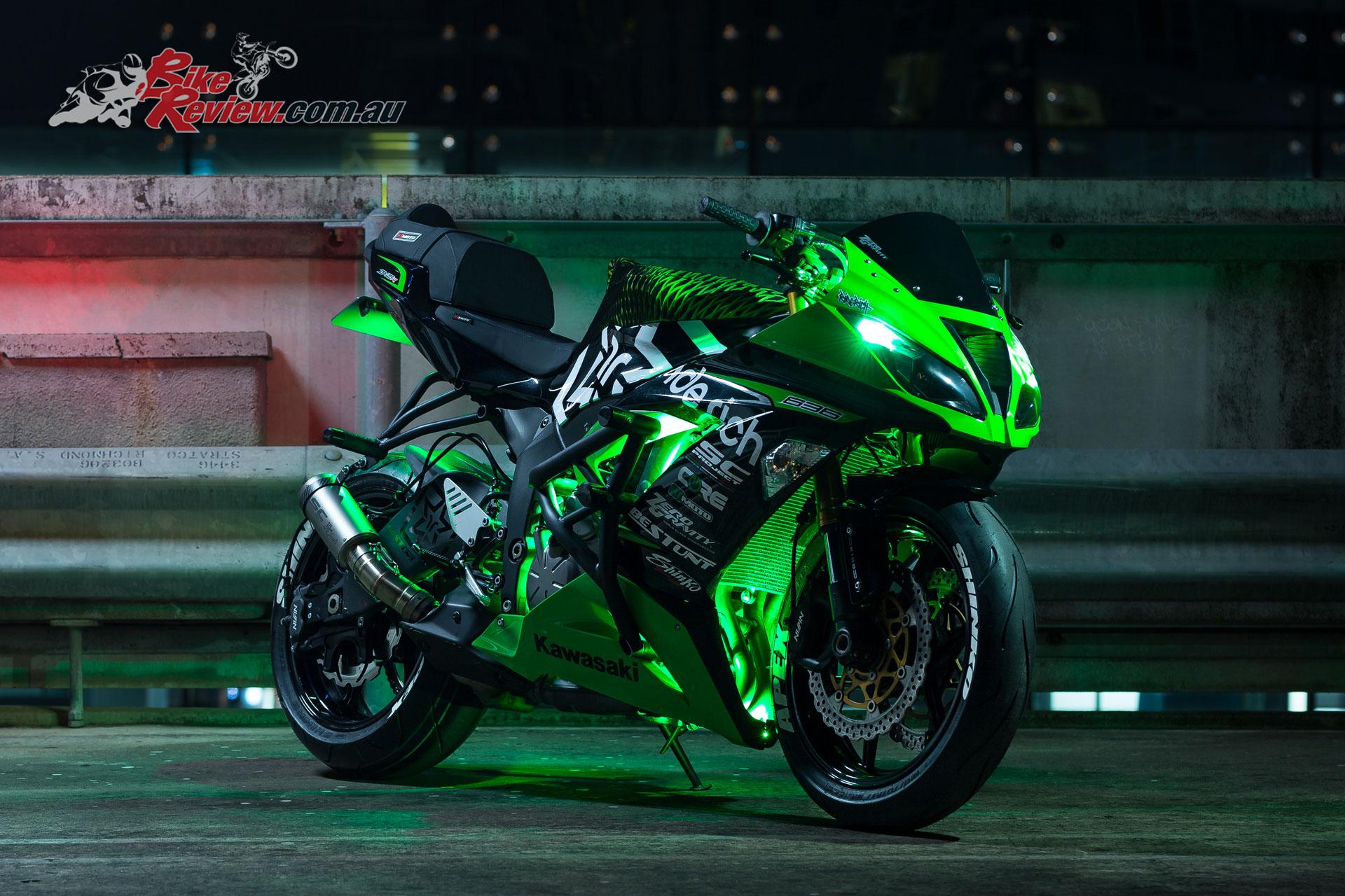 Bike Kawasaki Ninja R