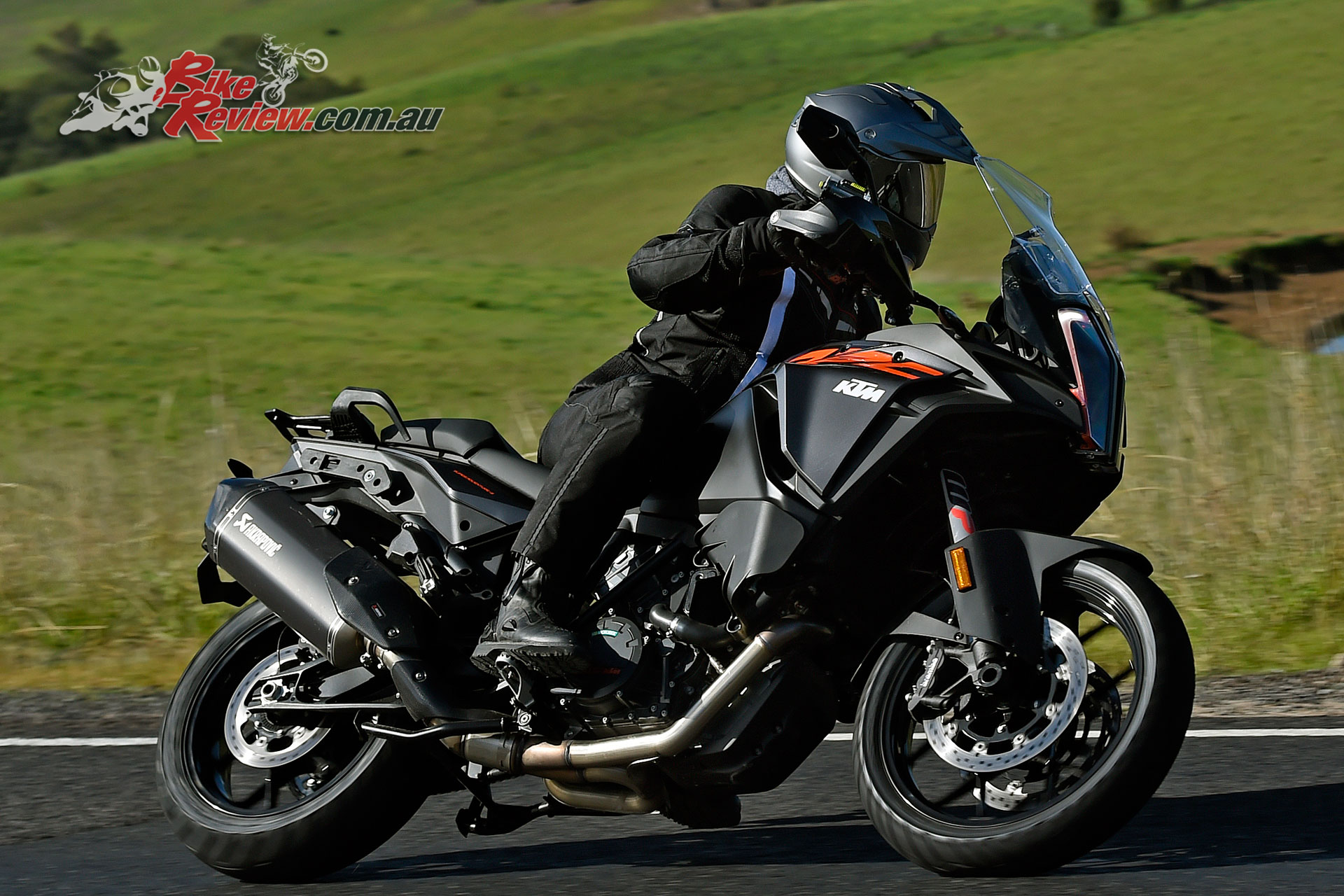 Pommie testing out the KTM 1290 Super Adventure S at the recent Australian launch