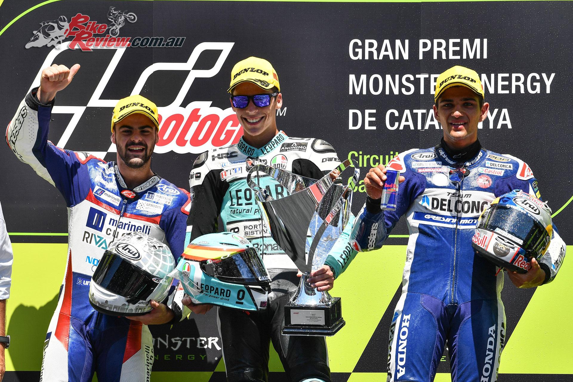 Moto3 Podium - Catalunya